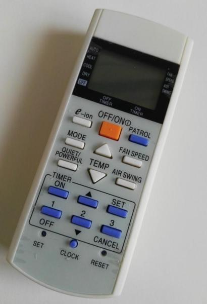 HEALLER Easy to Suitable Panasonic Air Conditioning Remote A75C3169 Remote Control