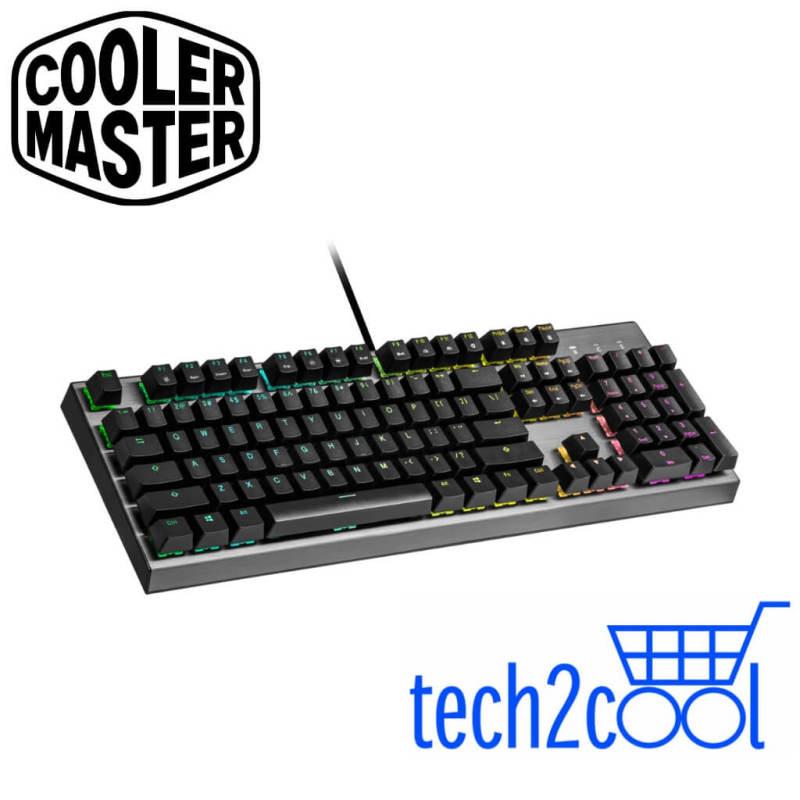 Cooler Master CK350 RGB Wired Mechanical Gaming Keyboard #Promotion Singapore