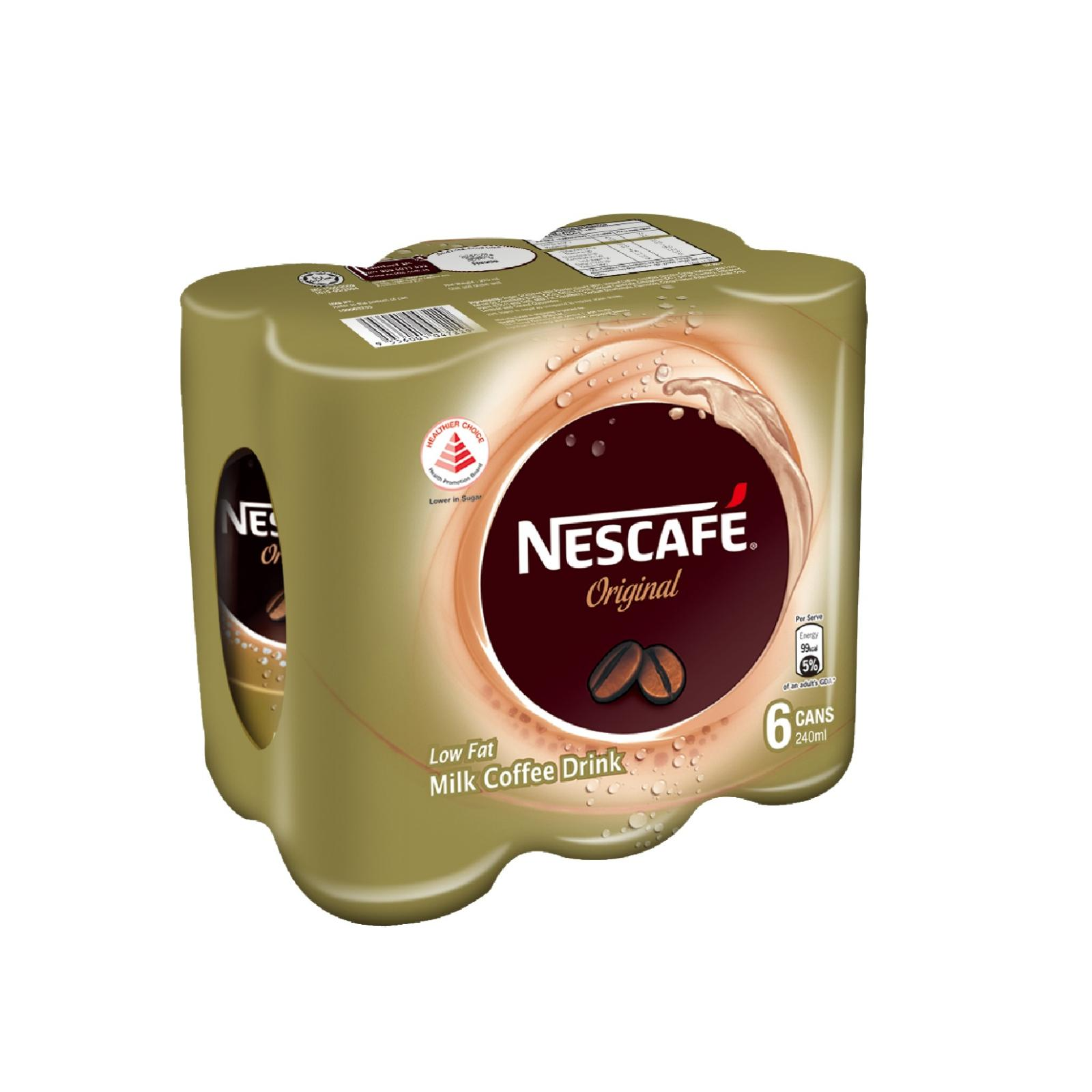 NESCAFE Milk Coffee Original Can