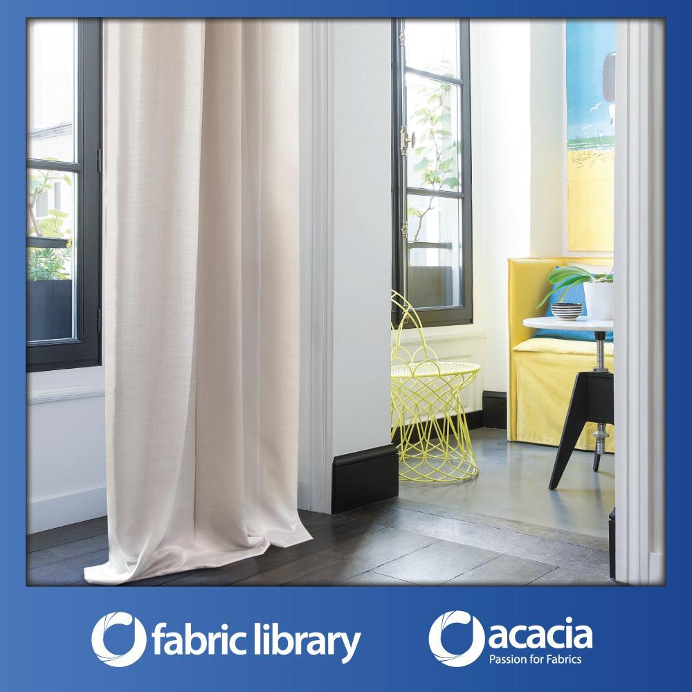 Fabric Library (Volcano) 30 x 102 Window/Sliding Door French Pleat Curtain - Volcano x 1 Panel