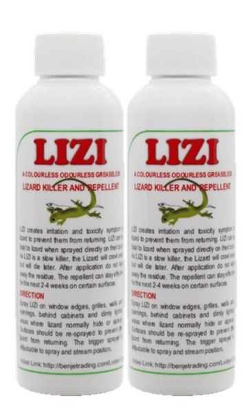 Benjes Lizi Lizard Repellent and Killer
