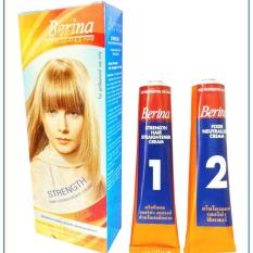 1 In Thailand! Berina Hair Straightening Cream (super Effective Long Lasting) By The Bro Store.