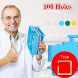 Who Sells 100 Holes Manual Capsule Filling Machine Pharmaceutical Capsule Maker Filler Size For Diy Herbal Capsules Pill Drug Jjcf118 Intl