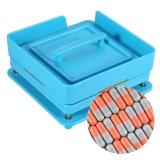 100 Holes Professional Capsule Powder Filler Plate Manual Machine 1 Intl In Stock