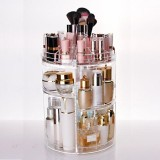 How Do I Get 122395111819 3 Tier Makeup Organizer Storage Holder Jewelry Display 360° Rotating Box Case Y1 Intl