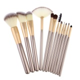 Where Can You Buy 12Pcs Makeup Brush Set With Leather Bag Intl Intl