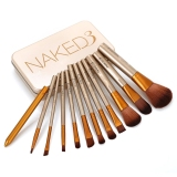 Who Sells The Cheapest 12Pcs Set Naked3 Power Brush Urban Makeup Brushes Nake 3 Professional Make Up Brush Kit Maquiagem Beauty Eye Face Tool Metal Box Online