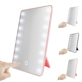 Who Sells The Cheapest 16 Leds Lighted Touch Screen Cosmetic Vanity Makeup Mirror Tabletop Bathroom White Intl Online