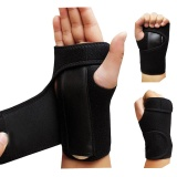 1Pair Left And Right Bandage Orthopedic Hand Brace Wrist Support Finger Splint Carpal Tunnel Syndrom Intl Sale