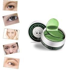 For Sale 1Set 60 Pcs Wholesale New Green Tea Powder Gel Collagen Eye Mask Masks Sheet Intl