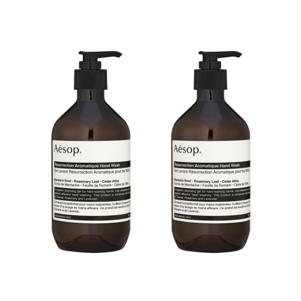 Buy 2 pcs Aesop Resurrection Aromatique Hand Wash 16.9oz, 500ml - intl Singapore