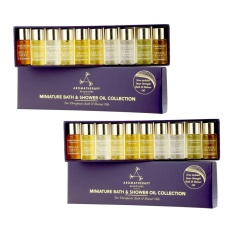 Top Rated 2 Sets Aromatherapy Associates Miniature Bath Shower Oil Collection 10 X 3Ml Intl