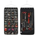 Buy 2 Sided Hanging Jewellery Storage Pockets Door Wall Wardrobe Closet Tidy For Earrings Necklace Bracelet Jewelry Display Organizer Rack Holder Storage Bag Black Intl Cheap On China