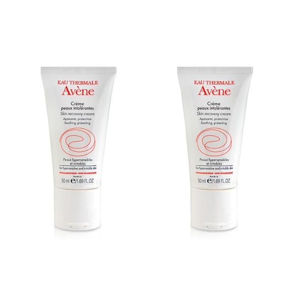 Buy 2 X Avene Skin Recovery Cream 50ml for Hypersensitive Irritable Allergic Skin - intl Singapore
