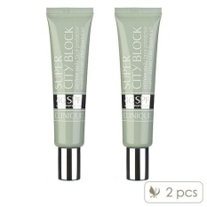 2 X Clinique Super City Block Oil-Free Daily Face Protector Spf 40 1.4oz, 40ml - Intl By Cosme-De.com.