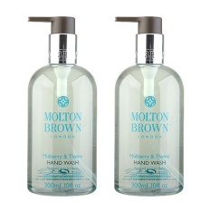 Deals For 2 X Molton Brown Hand Wash 10Oz 300Ml Mulberry Thyme Intl