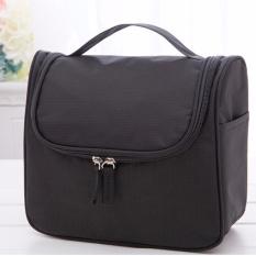Sale 2017 Nylon Zipper Women Makeup Bag Cosmetic Bag Case Make Up Organizer Toiletry Bag Fashion Storage Travel Pouch Bags Black Intl Sinokal Cheap