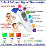 Buy 2018 Latest Eft 161 ♥ Digital Infrared Thermometer ♥ Contact Non Contact Three Backlight Colors Online Singapore