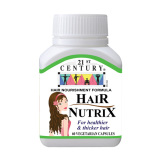 Sale 21St Century Hair Nutrix 60S To Strength Hair Roots To Stop Hair Falling On Singapore