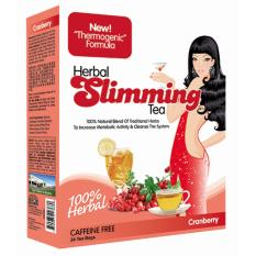 21St Century S Official E Store Herbal Slimming Tea 24 Teabags Cranberry Lower Price
