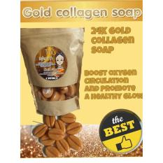24K Gold Collagen Face Soap Cheap