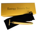 24K Gold Plated Beauty Bar Face Vibration Massager Beauty Stick For Sale