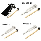 Retail Price 256 512 128Hz Medical Grade Musical Tuning Fork Chakra Hammer Ball Diagnostic 128Hz
