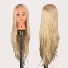 Buy 29 Hair Salon Hairdressing Training Practice Model Mannequin Doll Head Clamp Intl Oem