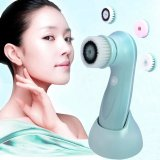 Best Offer 3 In1 Usb Rechargeable Electric Rotating F*C**L Cleansing Brush Face Cleaners Skin Care Scrubber Intl