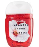 Retail 3 Pc Pack Bath And Body Works Pocketbac Sanitizing Hand Gel 29Ml Japanese Cherry Blossom