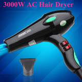 Coupon 3000W Anion Hair Dryer Blow Dryer Household Professional Barbershop Use Hairdryer Hair Styling Tools Intl