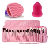 Purchase 32 Pcs Soft Makeup Brushes Professional Cosmetic Make Up Brush Tool And Brush Egg And Powder Puff Huge Gift Intl