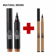 Compare 3Ce Eyebrow Set Tattoo Marker Slim Tinted Natural Brown Intl