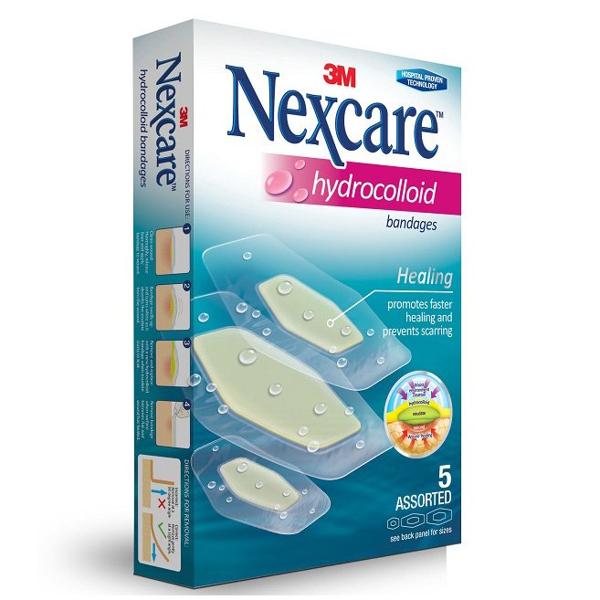 3m Nexcare Hydrocolloid Bandages - Assorted 5s By 3m Official Store.