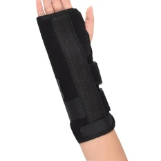 Review 3Pcs Right Hand Black Wrist Brace Support Splint Black M Intl Not Specified On China