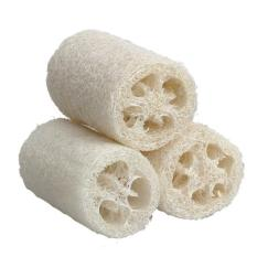 Discount 3X Natural Loofah Luffa Loofa Bath Body Shower Sponge Scrubber Small Size Oem