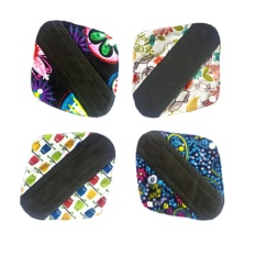4 Pcs 10 Inch 3 5 Inch Breathable Reusable Washable Menstrual Panty Liner Sanitary Napkin Maternity Mama Pads Intl Lower Price