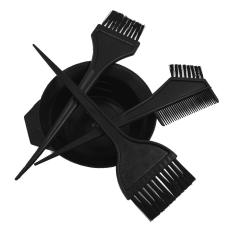 4 Pcs Plastic Salon Hair Coloring Dye Tint Bowl Comb Brush Hairdressing Styling Tool Kit - Intl By Vococal Shop.