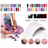 Shop For 4 Types Fashionable Uv 15 Leds 24W Nail Lamp Dryer Light Machine For All Nail Gels Intl