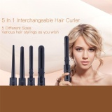 Price 5 In 1 Multifunctional Interchangeable Tourmaline Ceramic Hair Curling Iron Hair Curler Set Curling Tong Curling Wand Hair Styling Tool Beauty Tool Intl Unbrand New