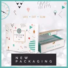 New 6 Boxes Passion Detox Pdx Slimming Fit 15 Pack Box