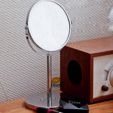 Low Cost 6 Inch Double Sided Makeup Mirror Rotating Mirror Creative Mirror