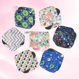 6Pcs Reusable Cloth Sanitary Menstrual Pads Panty Liner With Washable Wet Bag Intl Promo Code