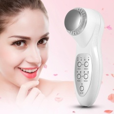 Compare Prices For 7 Colors Led Photon Light Ultrasonic F*C**L Skin Rejuvenation Care Machine Eu Plug Intl