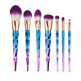 Price Comparisons For 7Pcs Makeup Brushes Set Unicorn Thread Diamond Gradient Color Cosmetic Brushes