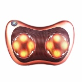 Coupon 8 Balls Electric Body Massager Pillow Infrared Heating Kneading Massage Pillow For Home Car Eu Plug Intl