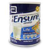 Price Abbott Ensure Life Milk Powder Nutritional Meal Replacement 850G Vanilla Abbott New