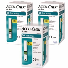 Compare Prices For Accu Chek Active Test 150 Strips 3 Box Intl
