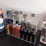 Review Acrylic Cosmetic Storage Box Organizer Makeup Jrkreation On Singapore