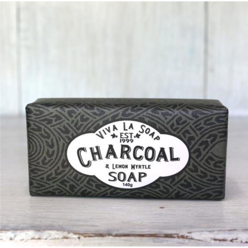 Buy Viva La Soap Activated Charcoal & Lemon Myrtle Singapore